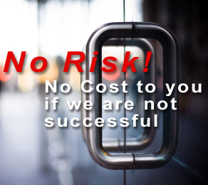 No Risk! No cost unless we are sucessful in lowering your property taxes!
